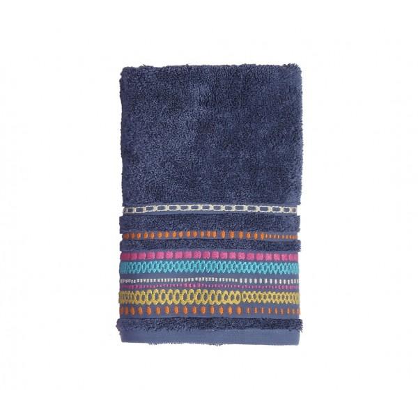 Πετσέτες Μπάνιου (Σετ 3τμχ) Nef-Nef Cadena Blue