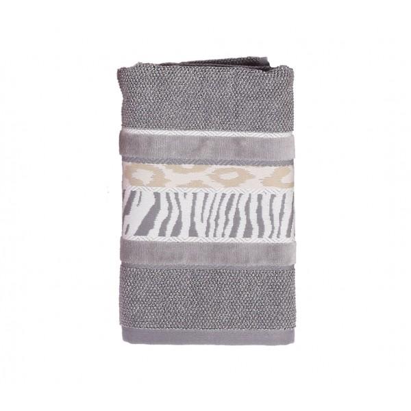 Πετσέτα Προσώπου (50x90) Nef-Nef Animal 1 Grey