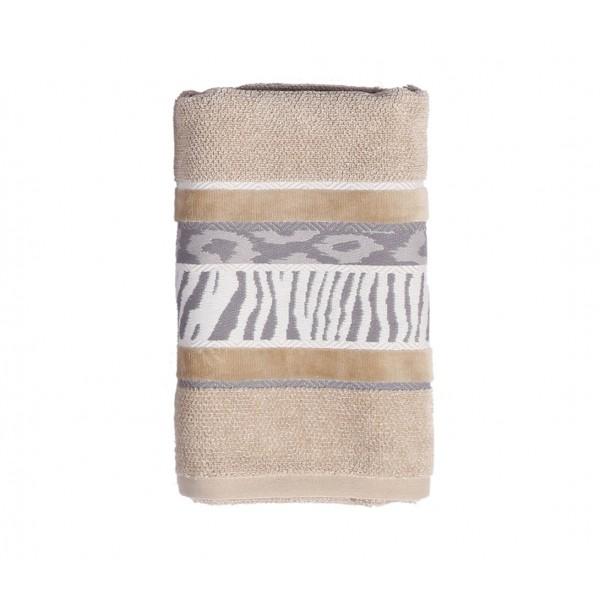 Πετσέτα Σώματος (70x140) Nef-Nef Animal 1 Beige