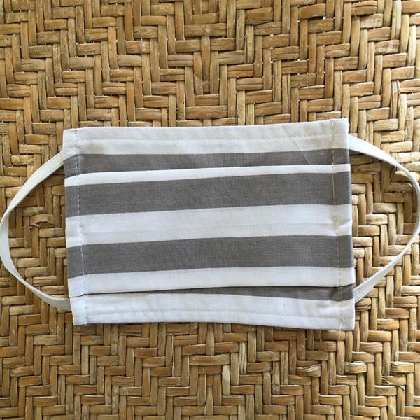 Μάσκα Προστασίας Υφασμάτινη Melinen Masks Stripes Grey