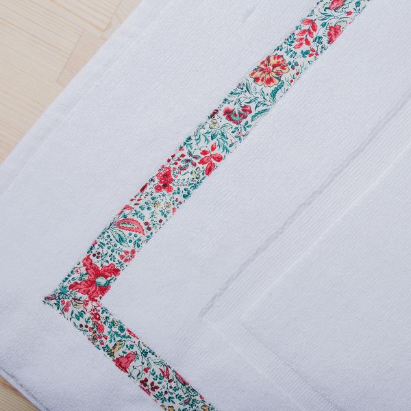Πετσετέ Πατάκι Μπάνιου White Fabric Primrose White
