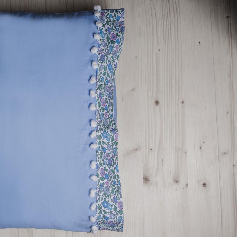 Ζεύγος Μαξιλαροθήκες White Fabric Margot Ciel