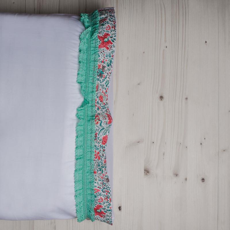 Ζεύγος Μαξιλαροθήκες White Fabric Primrose White
