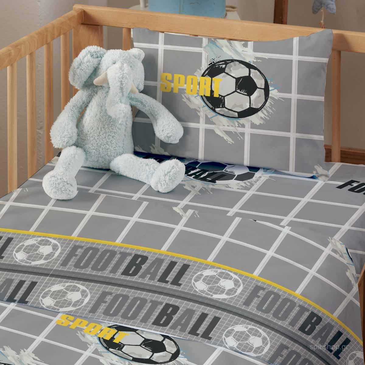 Σεντόνια Κούνιας (Σετ) Makis Tselios Baby Kick