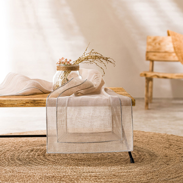Τραβέρσα Gofis Home Beatrice Linen 619/06