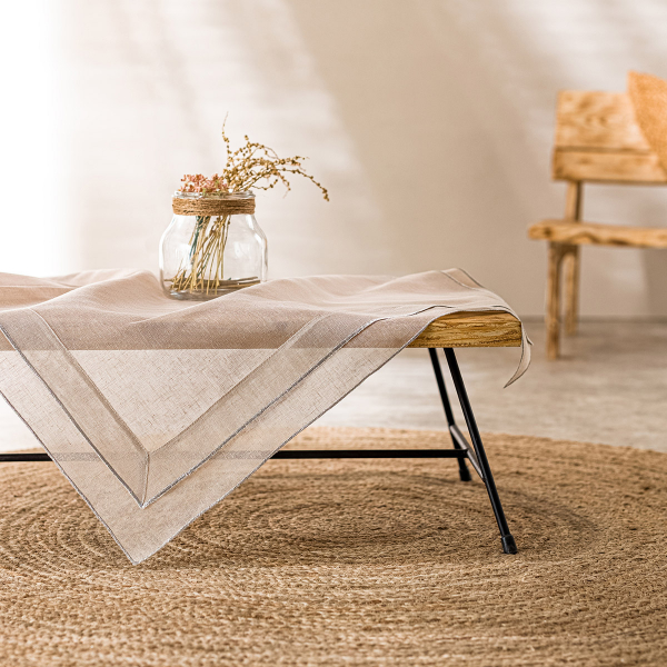 Καρέ Gofis Home Beatrice Linen 619/06