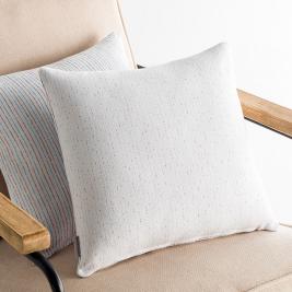 Διακοσμητική Μαξιλαροθήκη (50x50) Gofis Home Dotly White 393/16