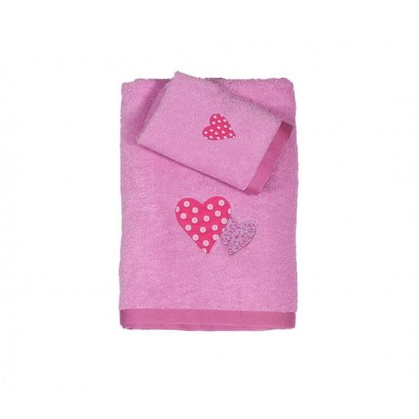 Παιδικές Πετσέτες (Σετ 2τμχ) Nef-Nef Kid Line Amore