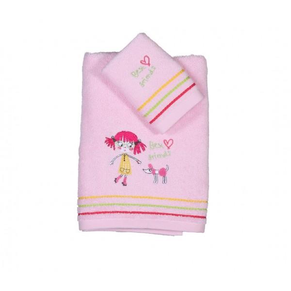 Παιδικές Πετσέτες (Σετ 2τμχ) Nef-Nef Kid Line Schoolgirls