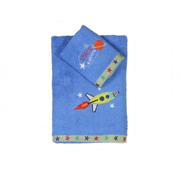 Παιδικές Πετσέτες (Σετ 2τμχ) Nef-Nef Kid Line Space Explore