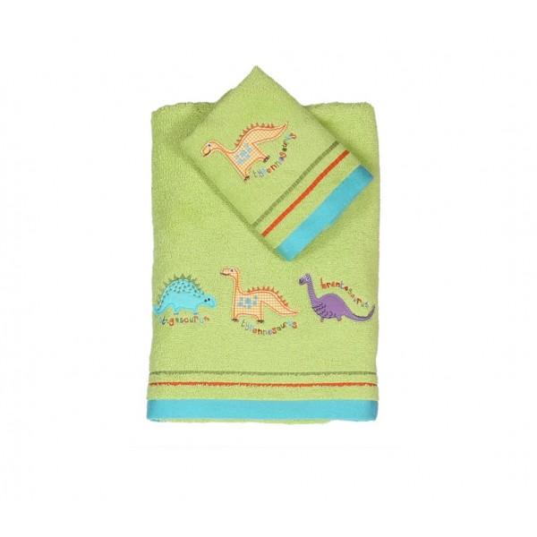 Παιδικές Πετσέτες (Σετ 2τμχ) Nef-Nef Kid Line Funny Dinosaurs