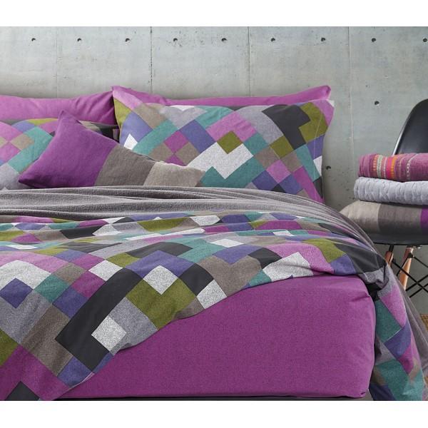 Σεντόνια Μονά (Σετ) Nef-Nef Smart Line Opal Purple