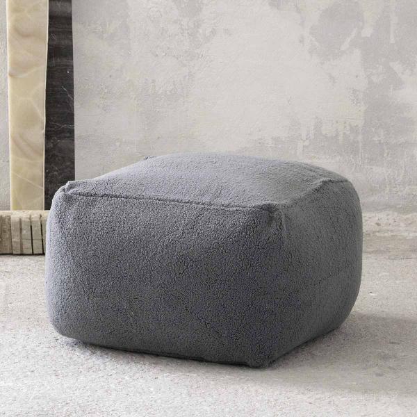 Πουφ Nima Poufs Wooly Grey