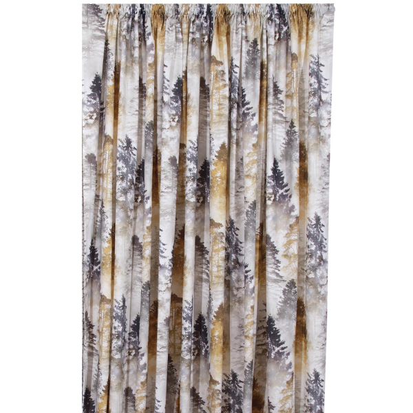 Κουρτίνα (140x270) Με Τρέσα Anna Riska Forest Beige