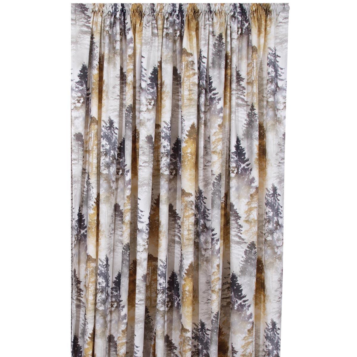 Κουρτίνα (280×270) Με Τρέσα Anna Riska Forest Beige