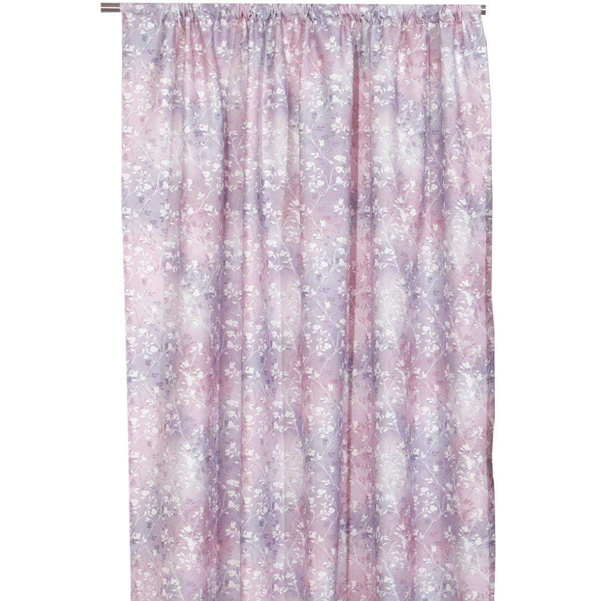 Κουρτίνα (140×270) Με Τρέσα Anna Riska Cleo Lilac