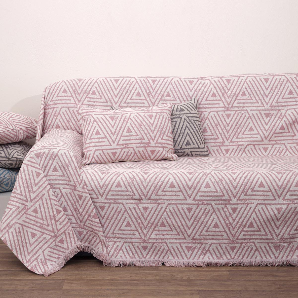 Ριχτάρι Τετραθέσιου (180×320) Anna Riska 1560 Blush Pink