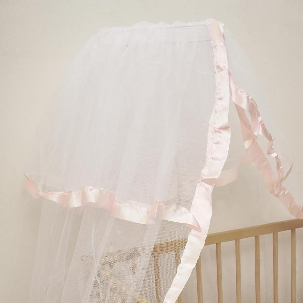 Κουνουπιέρα Κούνιας Anna Riska Mosquito Net Pink