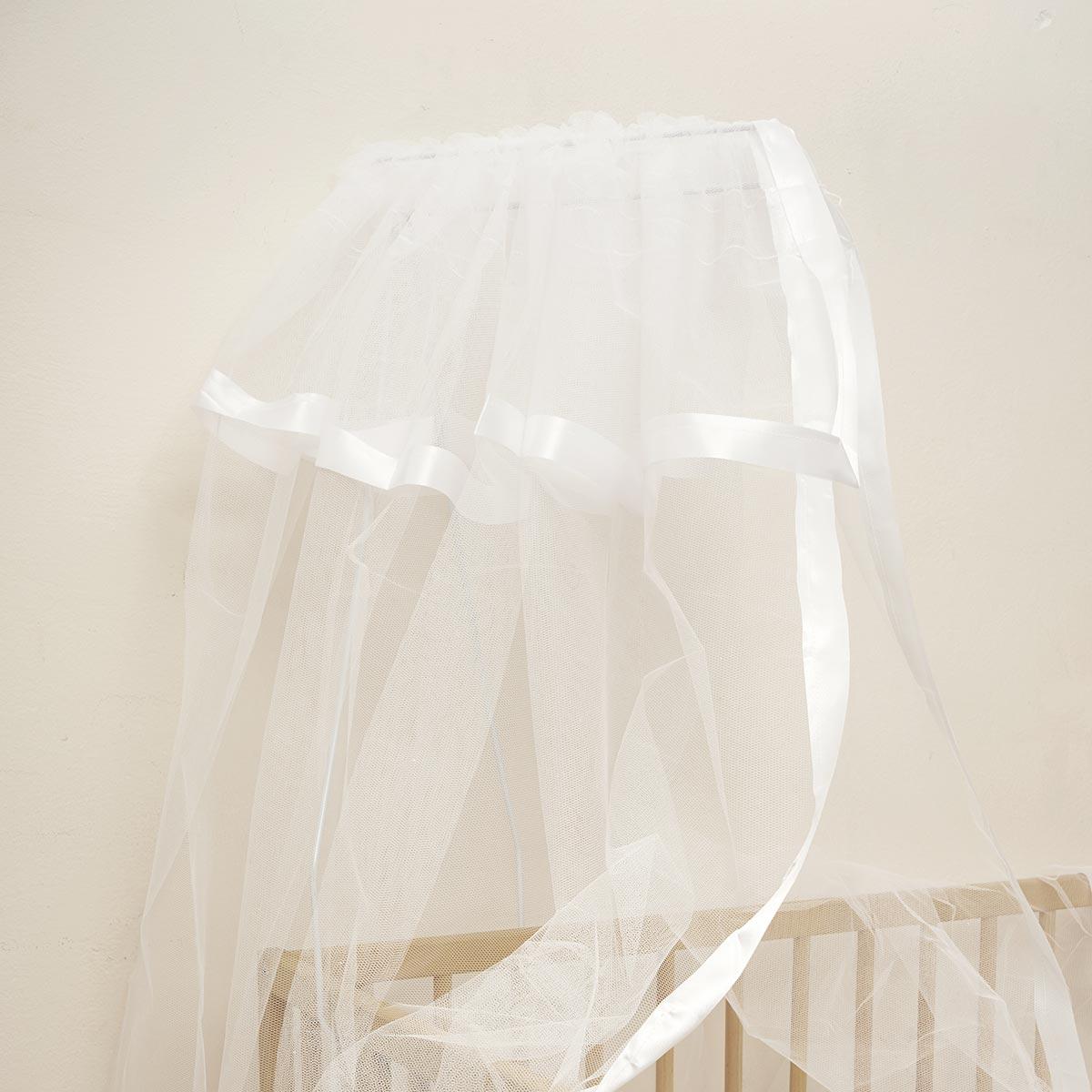 Κουνουπιέρα Κούνιας Anna Riska Mosquito Net White
