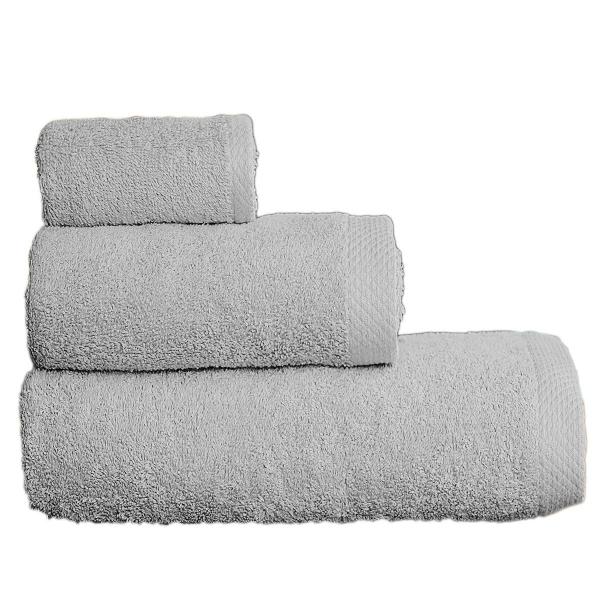 Πετσέτες Μπάνιου (Σετ 3τμχ) Vielen 866099 Γκρι