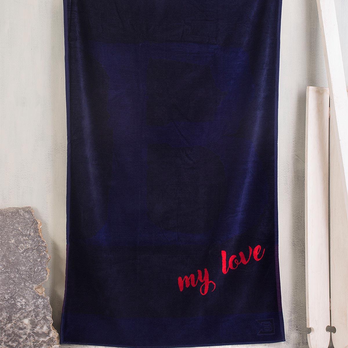 Πετσέτα Θαλάσσης Rythmos MyLove