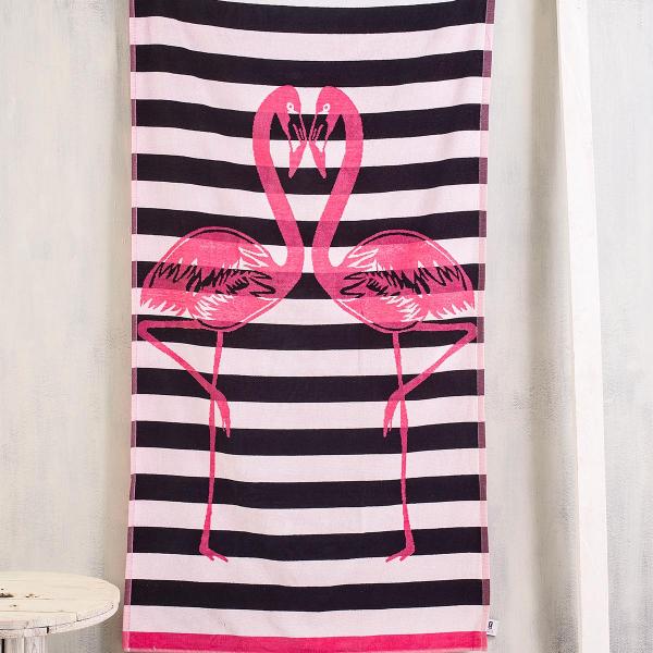Πετσέτα Θαλάσσης Rythmos Flamingos