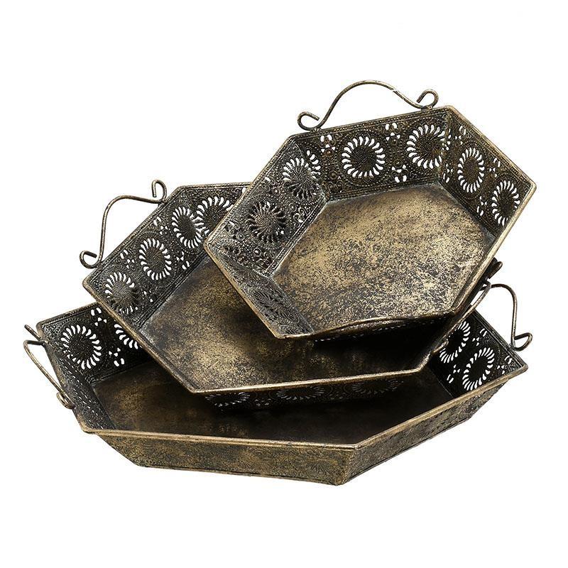 Δίσκοι Διακόσμησης (Σετ 3τμχ) InArt 3-70-480-0018