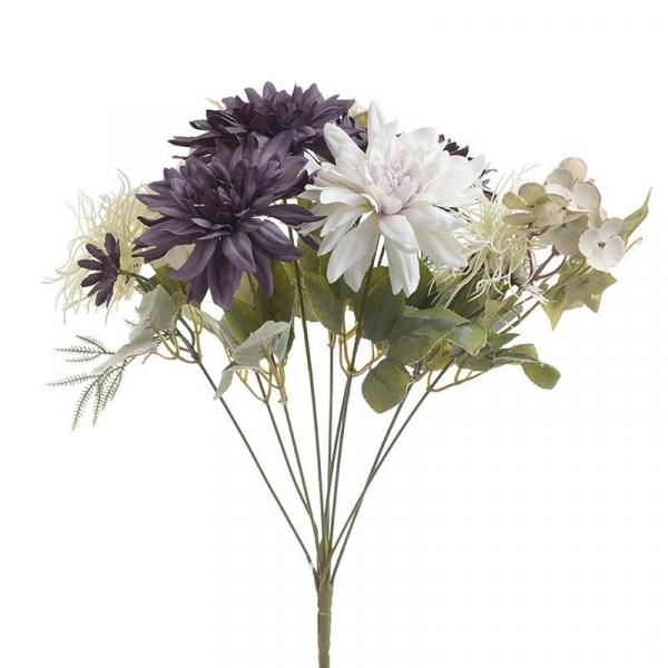 Διακοσμητικό Μπουκέτο Λουλουδιών InArt 3-85-505-0054