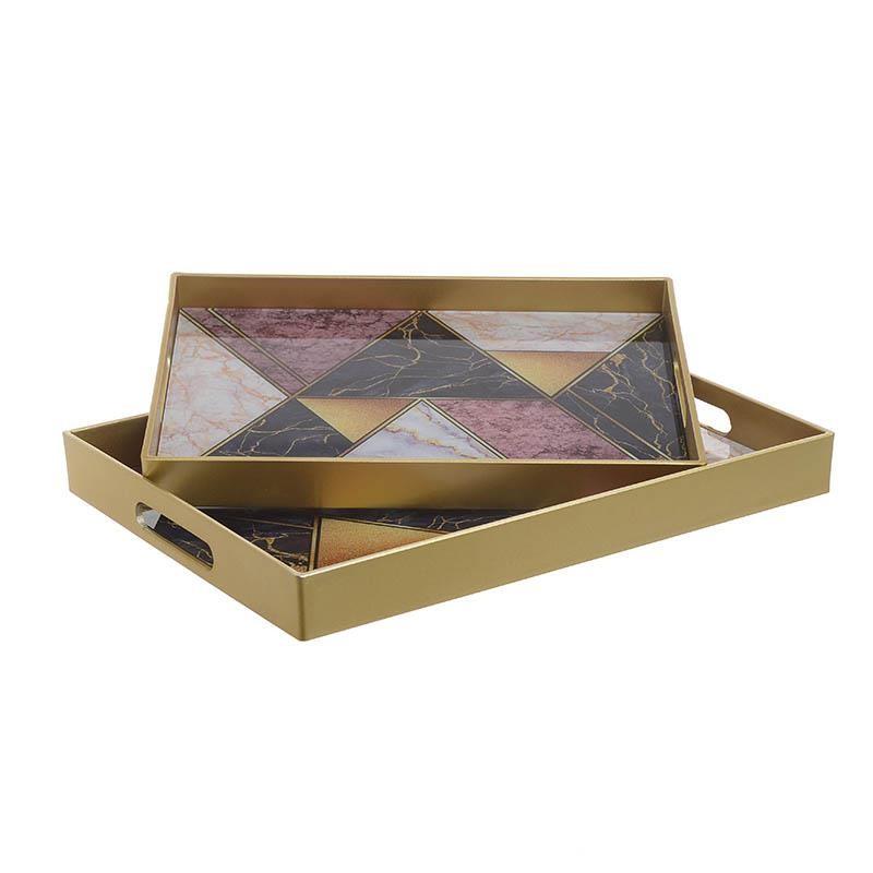 Δίσκοι Διακόσμησης (Σετ 2τμχ) InArt 3-70-684-0015