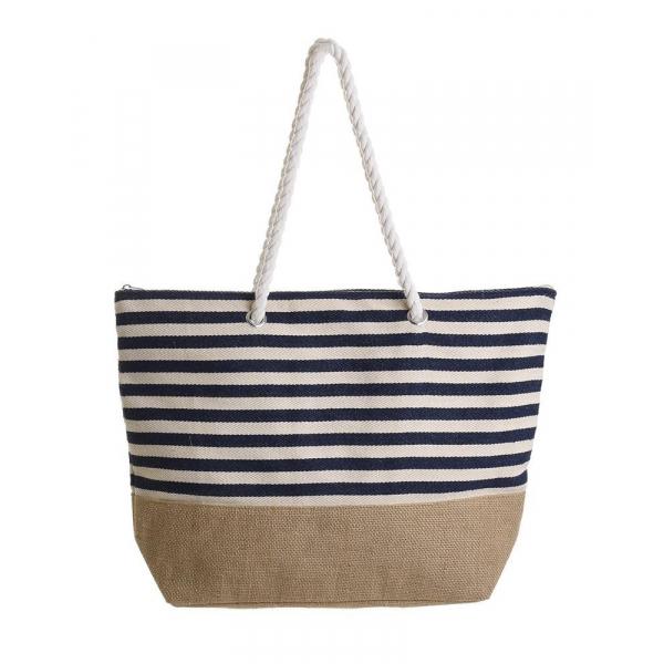 Ψάθινη Τσάντα Θαλάσσης InArt 5-42-051-0066
