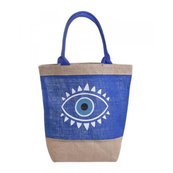 Ψάθινη Τσάντα Θαλάσσης InArt 5-42-151-0116