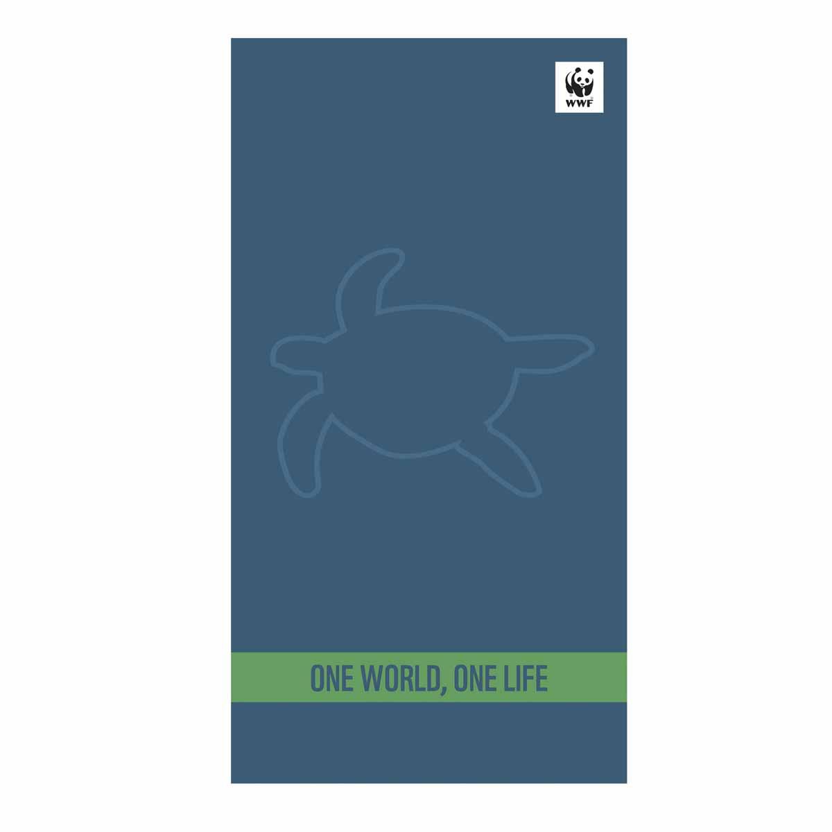 Πετσέτα Θαλάσσης Nef-Nef WWF One World One Life