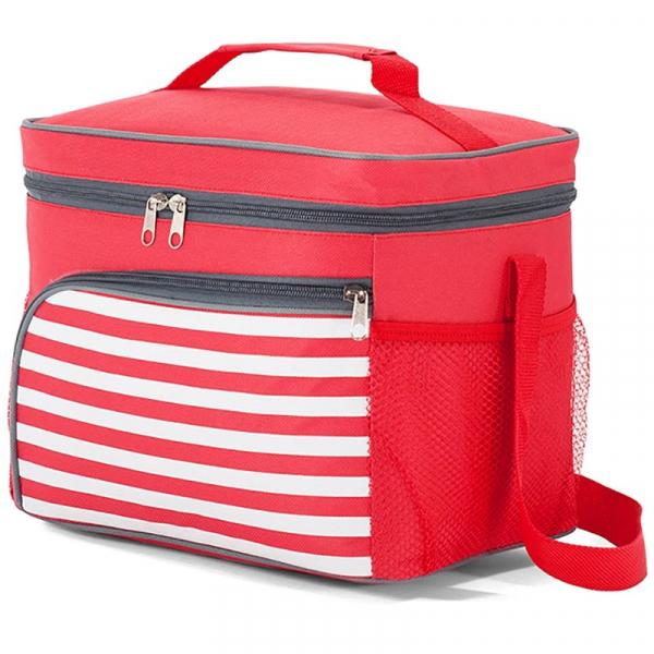 Ισοθερμική Φορητή Τσάντα (12Lit) Benzi 5201 Red