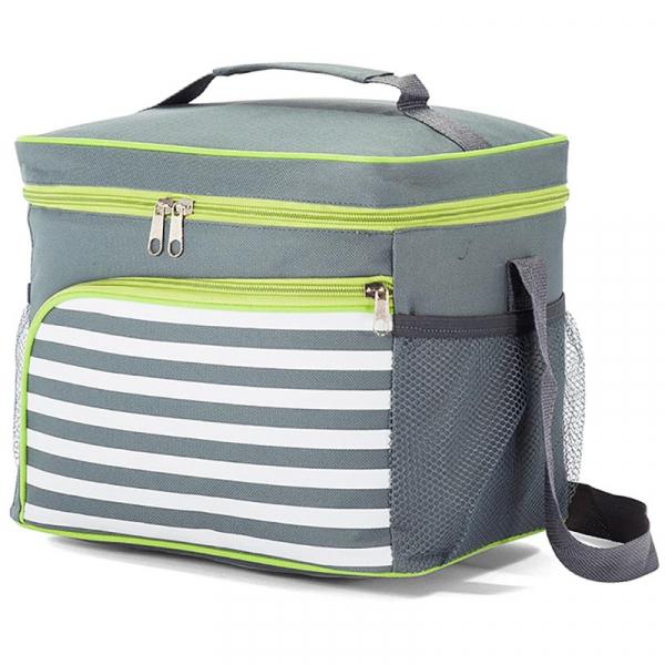 Ισοθερμική Φορητή Τσάντα (12Lit) Benzi 5201 Grey