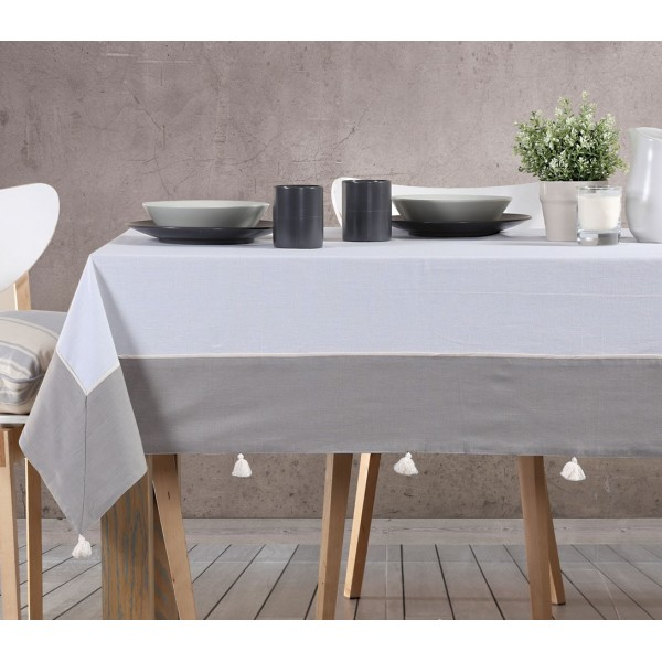 Τραπεζομάντηλο (170x220) Nef-Nef Kitchen Normal Grey