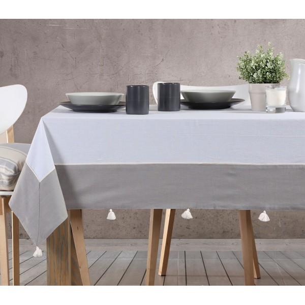 Τραπεζομάντηλο (170x260) Nef-Nef Kitchen Normal Grey