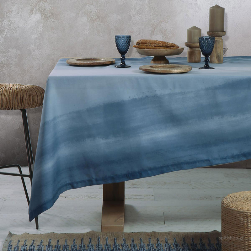 Τραπεζομάντηλο (140x240) Nef-Nef Blue Collection Ocean Blue