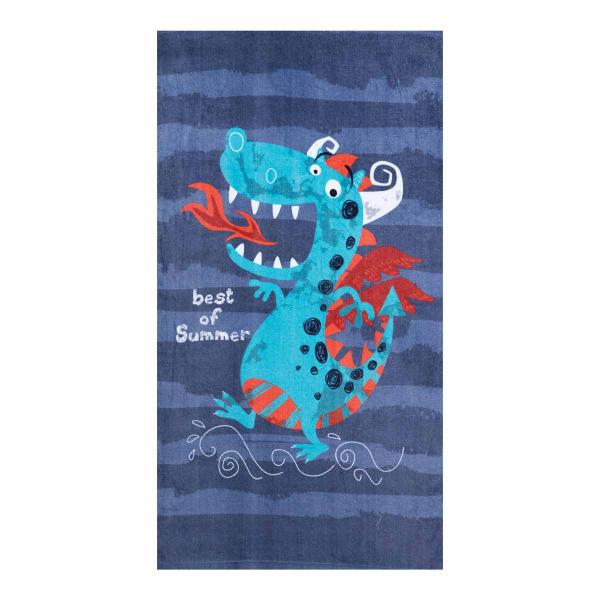 Παιδική Πετσέτα Θαλάσσης Nef-Nef Beach Dragon
