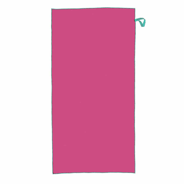 Πετσέτα Microfiber (75x150) Nef-Nef Vivid 20 Young Fuchsia
