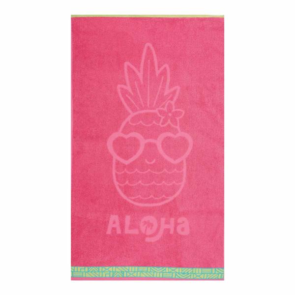 Παιδική Πετσέτα Θαλάσσης Nef-Nef Pineapple Dream Coral