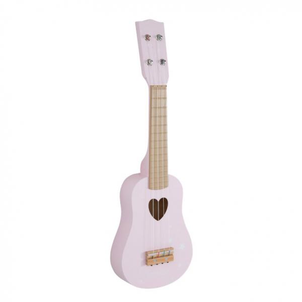 Ξύλινη Κιθάρα Little Dutch Adventure Pink LD4408