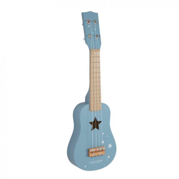 Ξύλινη Κιθάρα Little Dutch Adventure Blue LD4409