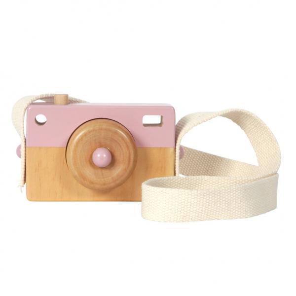 Ξύλινη Φωτογραφική Μηχανή Little Dutch Ροζ LD4435