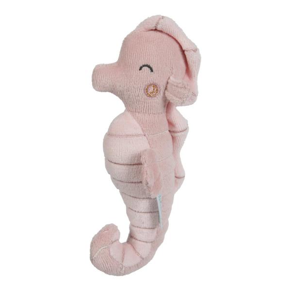 Κουδουνίστρα Little Dutch Ιππόκαμπος Ocean Pink LD4821