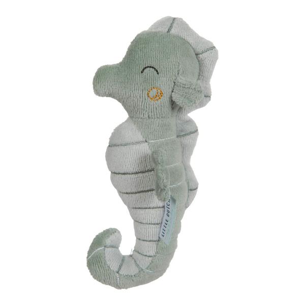Κουδουνίστρα Little Dutch Ιππόκαμπος Ocean Mint LD4823