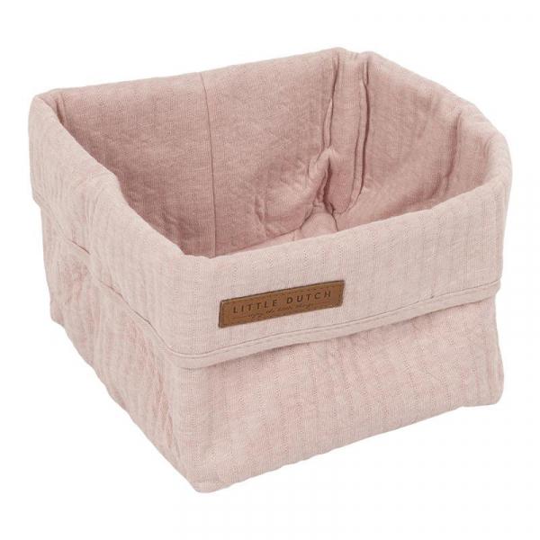 Καλάθι Αποθήκευσης (15x15x15) Little Dutch Pure Pink Small