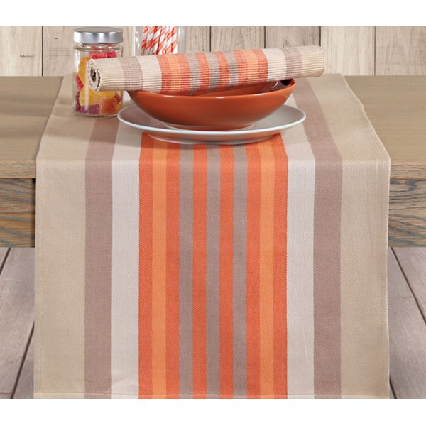 Τραβέρσα Nef-Nef Kitchen Rules Beige/Orange