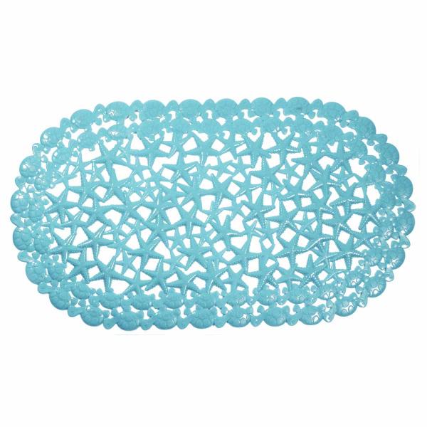 Αντιολισθητικό Πατάκι Μπανιέρας Estia Starfish Blue 02-7881