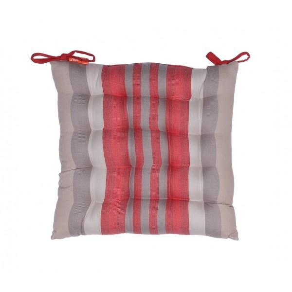 Μαξιλάρι Καρέκλας Nef-Nef Kitchen Rules Grey/Red