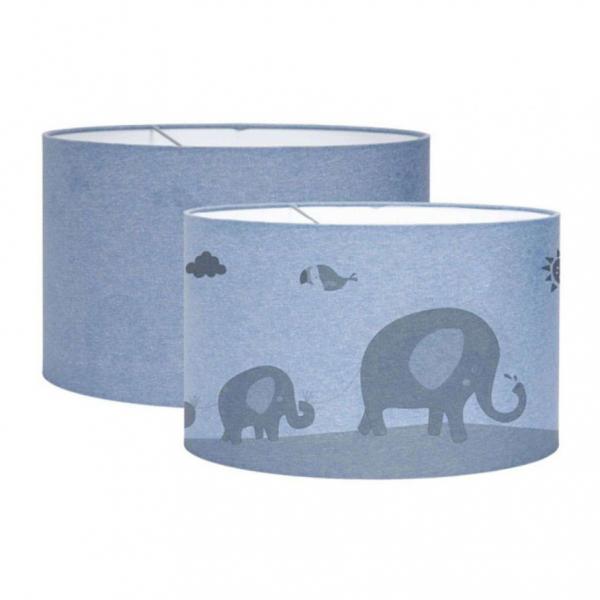 Παιδικό Φωτιστικό Οροφής Μονόφωτο Little Dutch Silhouette Zoo Blue